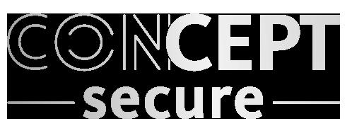 logo concept secure